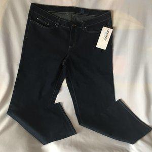 JOCKEY Classic Straight Mid-Rise Denim Jeans Sz 18